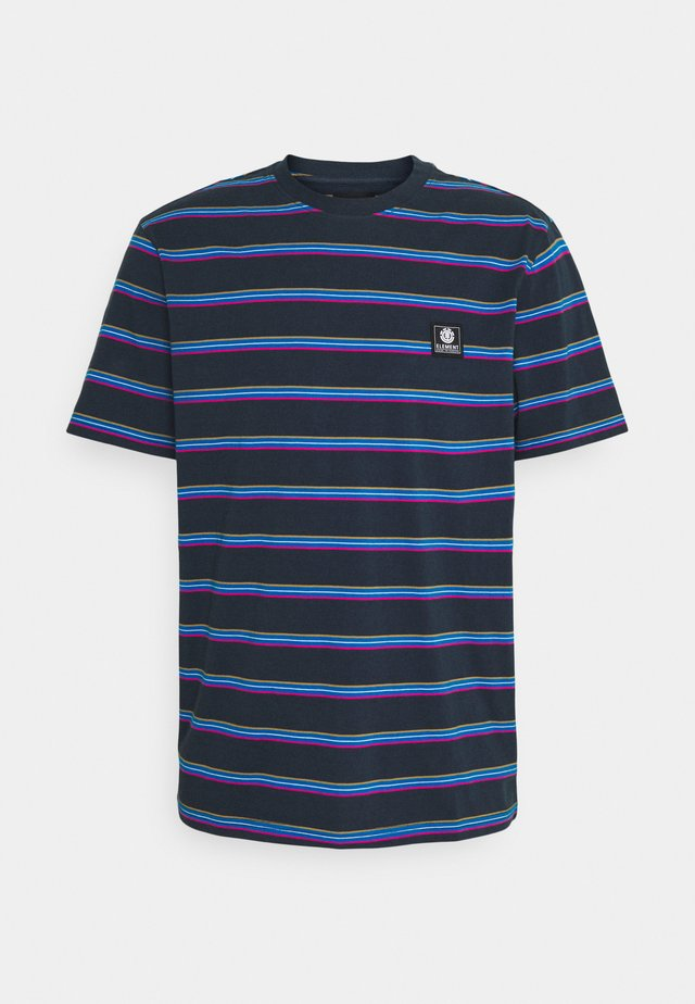 BRADLEY - T-shirts med print - eclipse navy