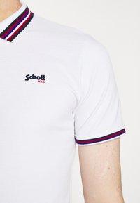 Schott - HENRY - Polo shirt - white - 5