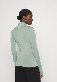 Gestuz - SIRIN ROLLNECK - Long sleeved top - slate gray - 2