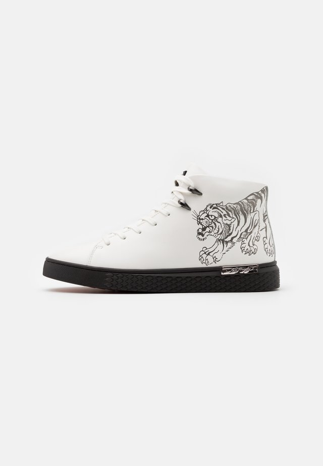 CREEPER - High-top trainers - white/gunmetal