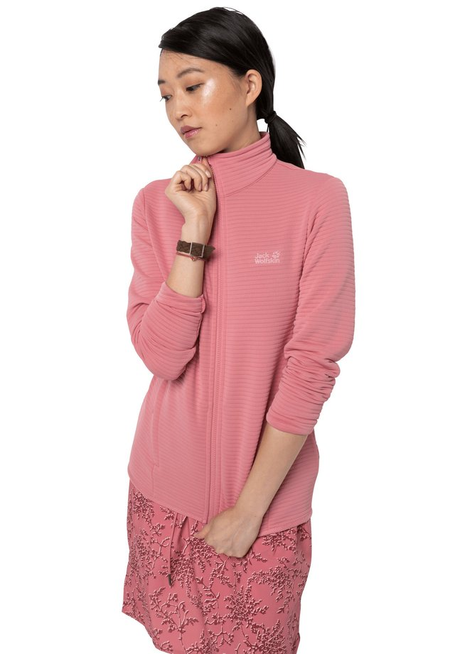 MODESTO - Fleece jacket - rose quartz
