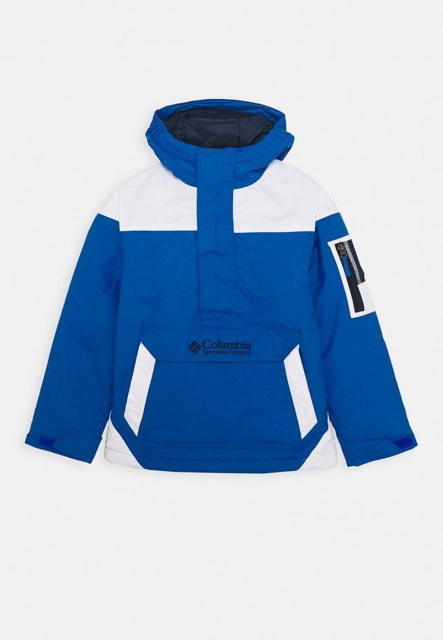 CHALLENGER - Outdoor jacket - bright indigo/white/coll navy