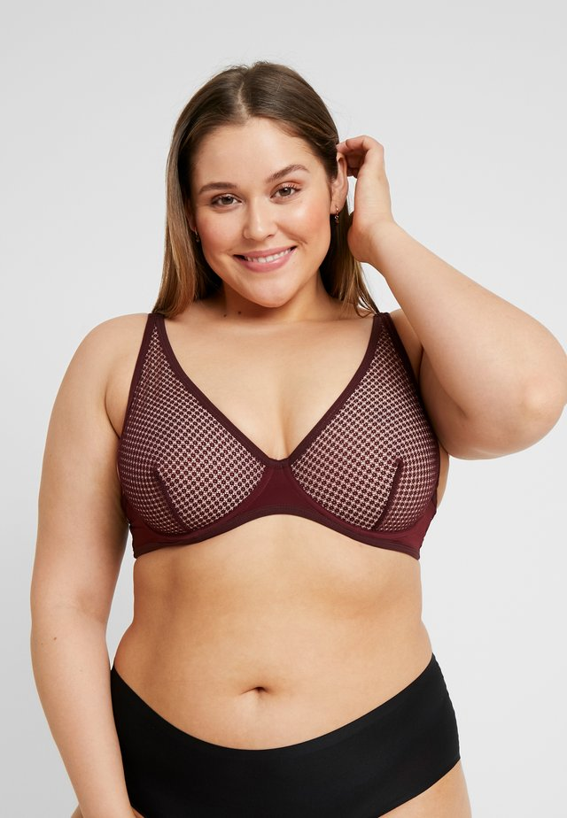 LYDIA BRALETTE - Underwired bra - tea rose