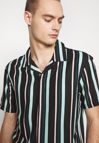 Common Kollectiv - UNISEX STRIPED SHORT SLEEVE BOWL - Shirt - black - 5