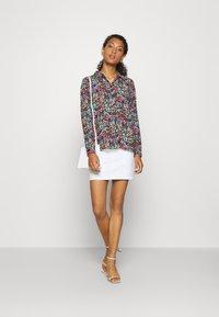 JDY - JDYLION - Button-down blouse - black/multicolor - 1
