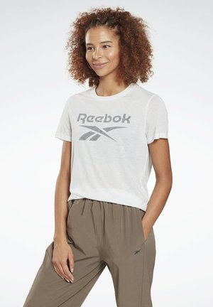 WORKOUT READY SPEEDWICK - Print T-shirt - white