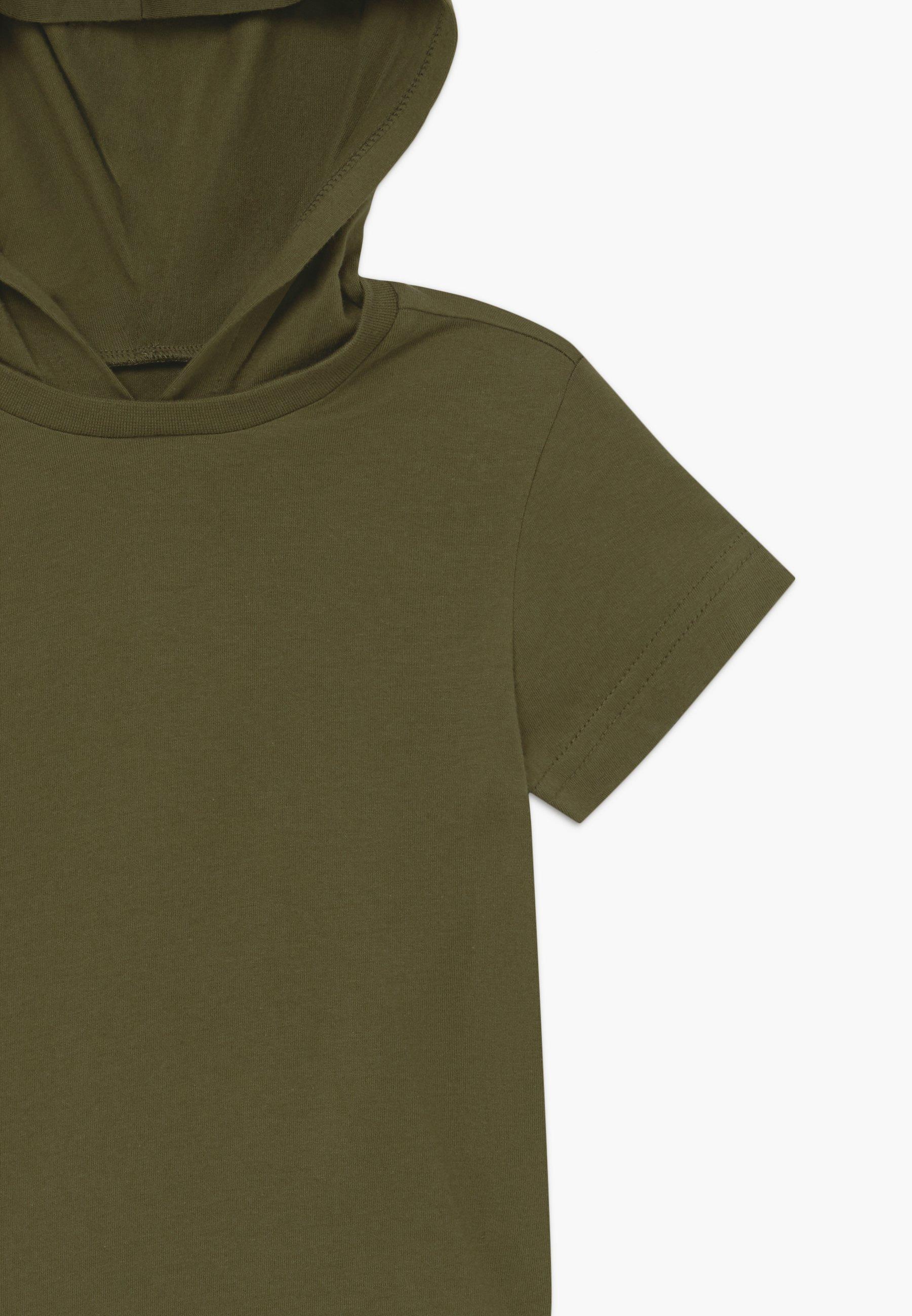 Friboo 2 PACK - Print T-shirt - black/khaki 3qSMK