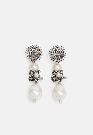 EARRINGS BEADS - Oorbellen - silver-coloured