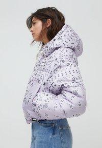 PULL&BEAR - Winter jacket - mauve - 3