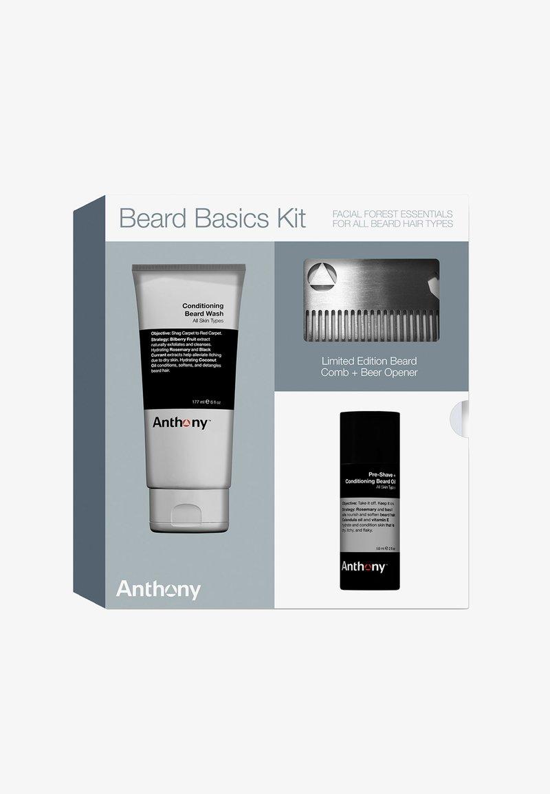 Anthony - BEARD BASIC KIT - Shaving set - -