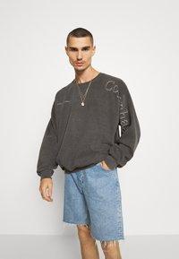 Topman - COPENHAGEN PRINT - Sweatshirt - black - 0