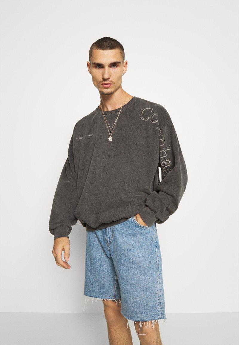 Topman - COPENHAGEN PRINT - Sweatshirt - black