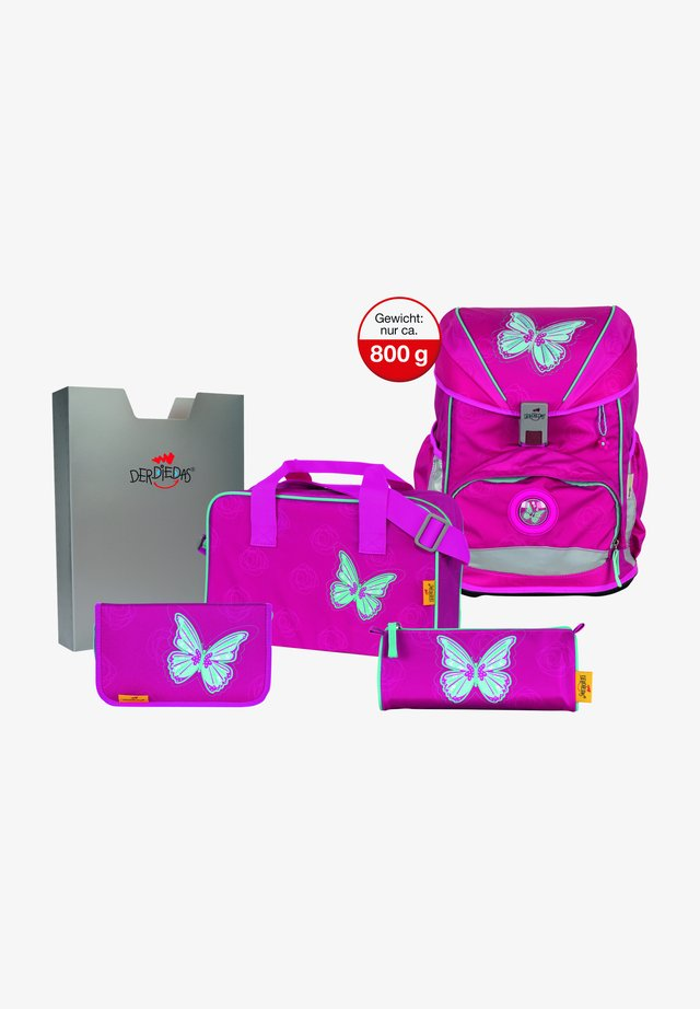 SET - School bag - mariposa