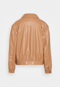 comma - LANGARM - Faux leather jacket - camel - 1