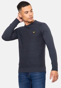 Threadbare - Pullover - blau - 0