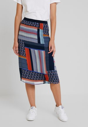 GONNIE SKIRT - Gonna a campana - navy