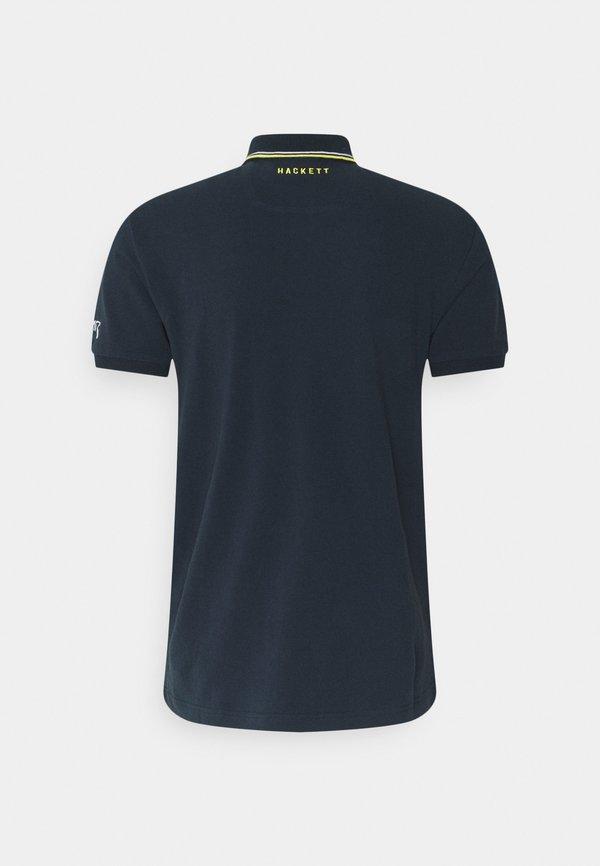Hackett Aston Martin Racing Koszulka polo - navy/granatowy Odzież Męska QLGY