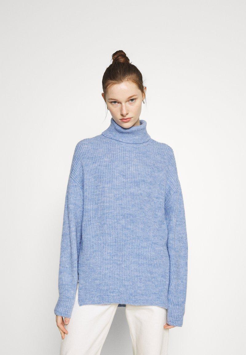 Even&Odd - Jumper - mottled light blue