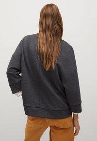 Mango - MIA - Sweatshirt - dunkelgrau meliert - 2