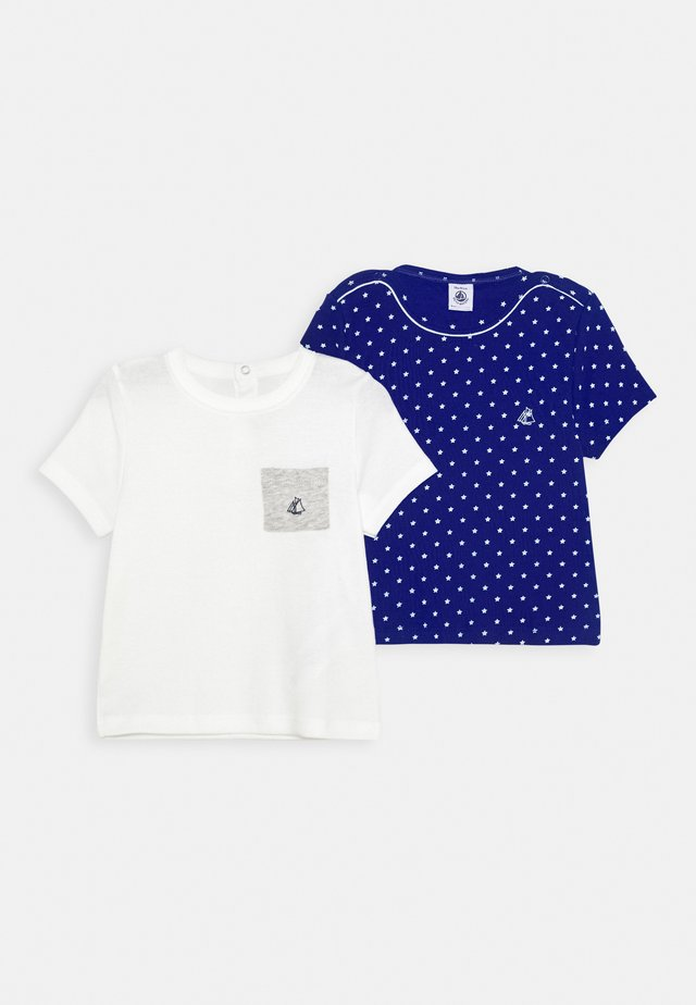 2 PACK - T-shirt print - surf/marshmallow