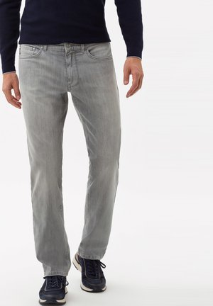 STYLE COOPER DENIM - Straight leg jeans - light grey used