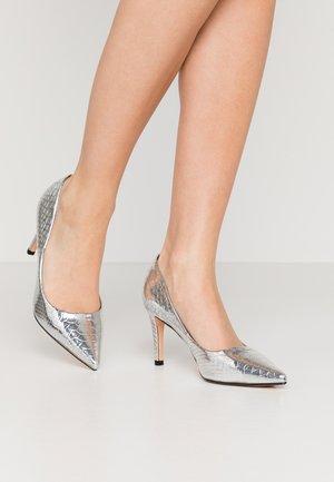 FANNY - Tacones - silver
