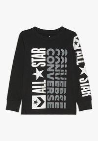 Converse - LOGO REMIX  - Maglietta a manica lunga - black - 0