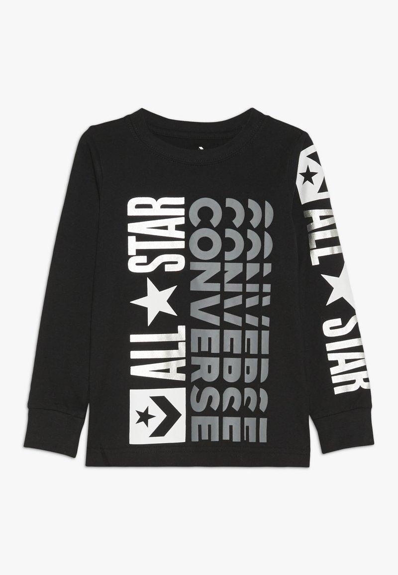Converse - LOGO REMIX  - Maglietta a manica lunga - black