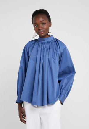 CAZARA - Blouse - open blue