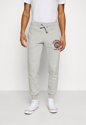 JJIGORDON JJRALPH PANTS  - Tracksuit bottoms - grey melange