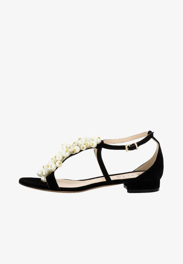 SALVINA - Sandals - black