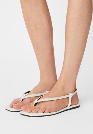 EVERYDAY MADDIE - T-bar sandals - white