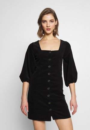 ROXY DRESS - Korte jurk - black