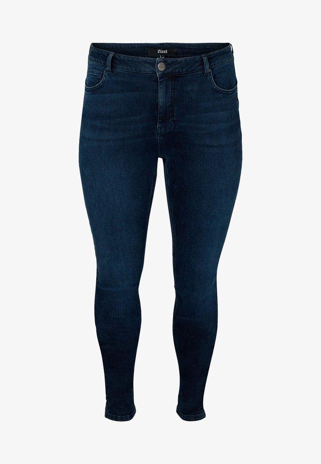 JPOSH, LONG, AMY - Jeans slim fit - black comb