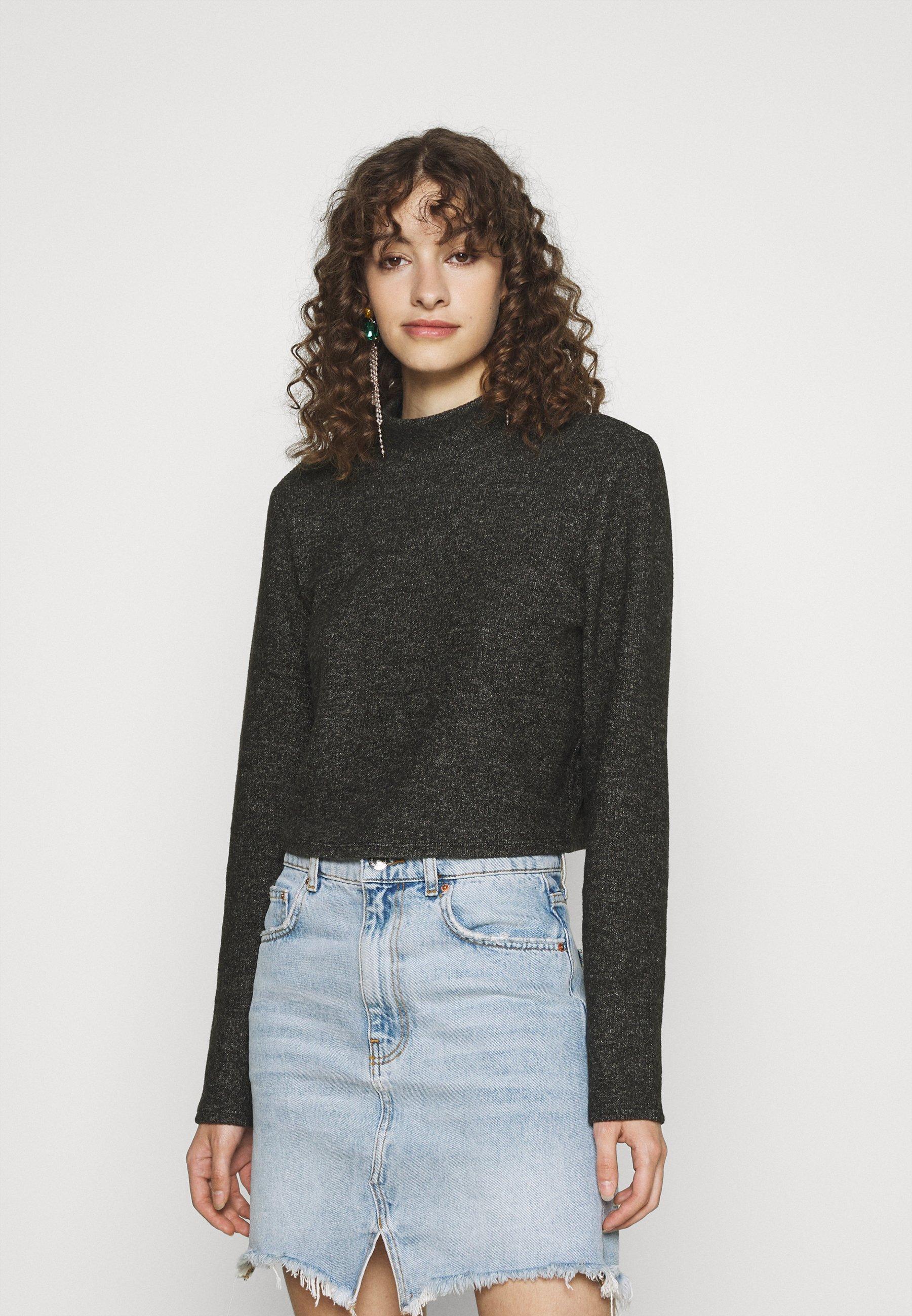 Femme VILANO CROPPED - Pullover