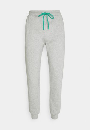 RELAXED JOGGER UNISEX - Tracksuit bottoms - light grey marl