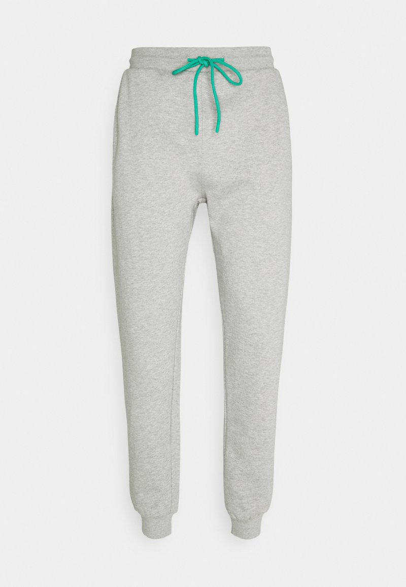 Urban Threads - RELAXED JOGGER UNISEX - Tracksuit bottoms - light grey marl