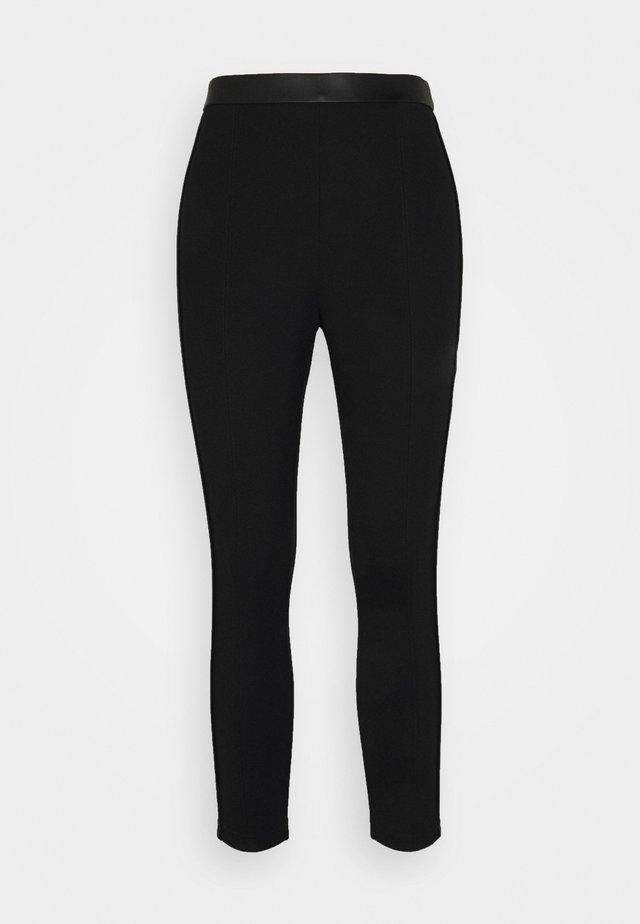 VIVALAS - Pantalon classique - black