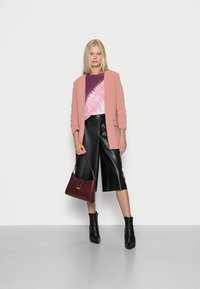 GAP - CREW  - Sweatshirt - burgundy tie dye - 1