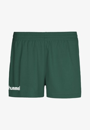 CORE - Short de sport - evergreen