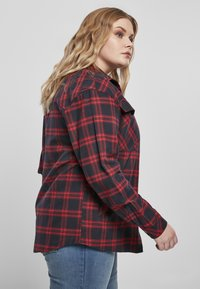 Urban Classics - OVERSIZED  - Button-down blouse - midnightnavy/red - 6