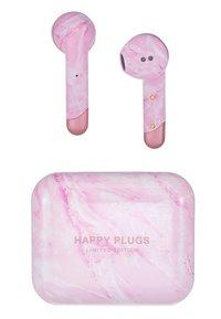 Happy Plugs - AIR 1 TRUE WIRELESS HEADPHONES - Headphones - pink - 4