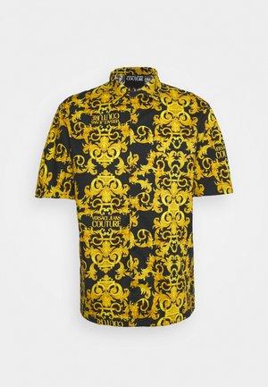 LOGO BAROQUE - Košile - black