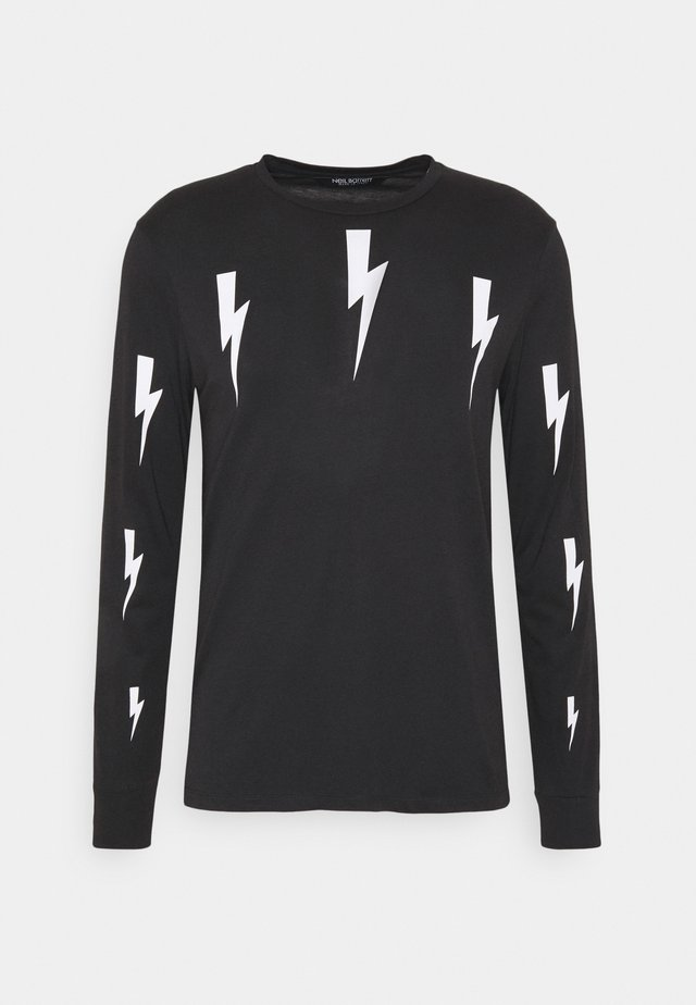 HALO BOLTS PRINT - Langærmede T-shirts - black/white