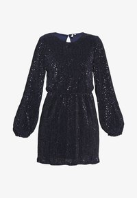 Nly by Nelly - BALLOON SLEEVE DRESS - Cocktailkjole - blue - 3