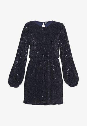 BALLOON SLEEVE DRESS - Cocktailkjoler / festkjoler - blue