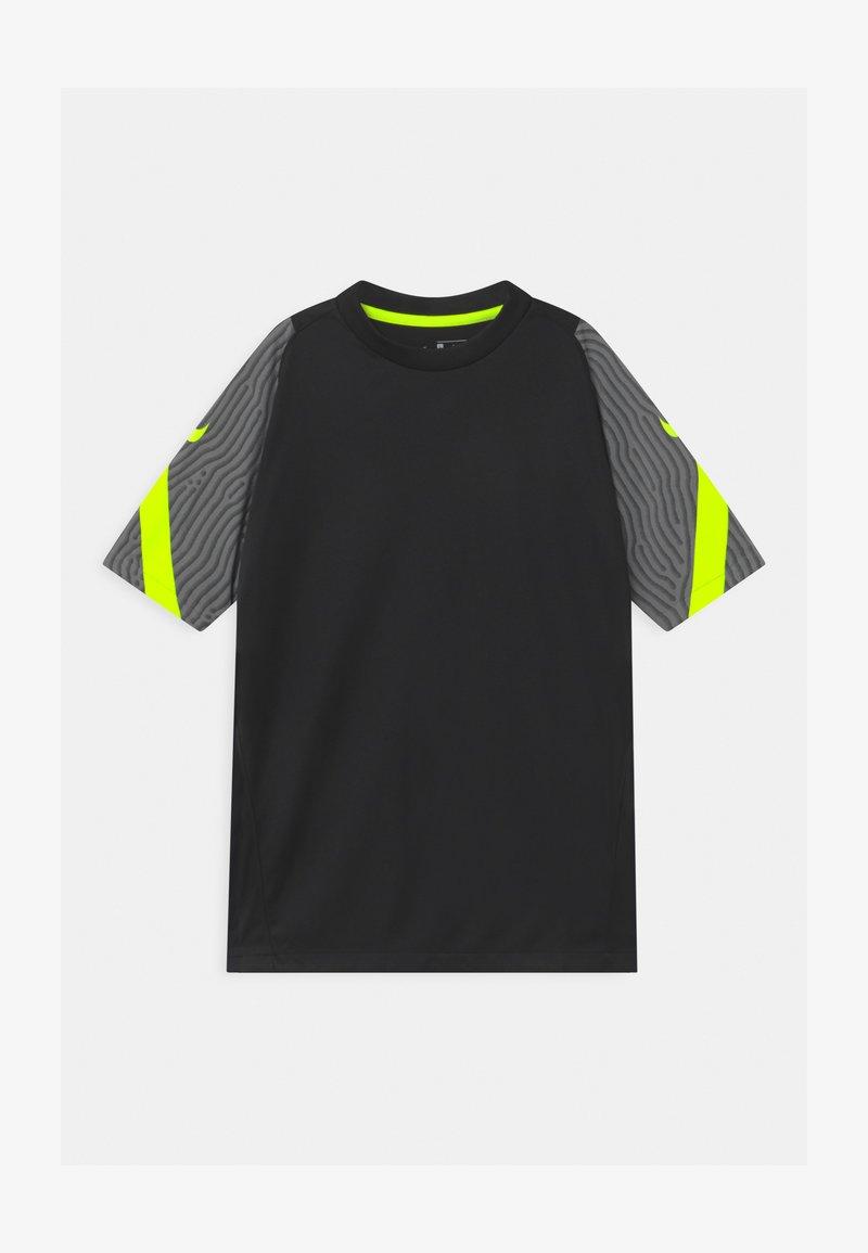 Nike Performance - Print T-shirt - smoke grey/black/volt