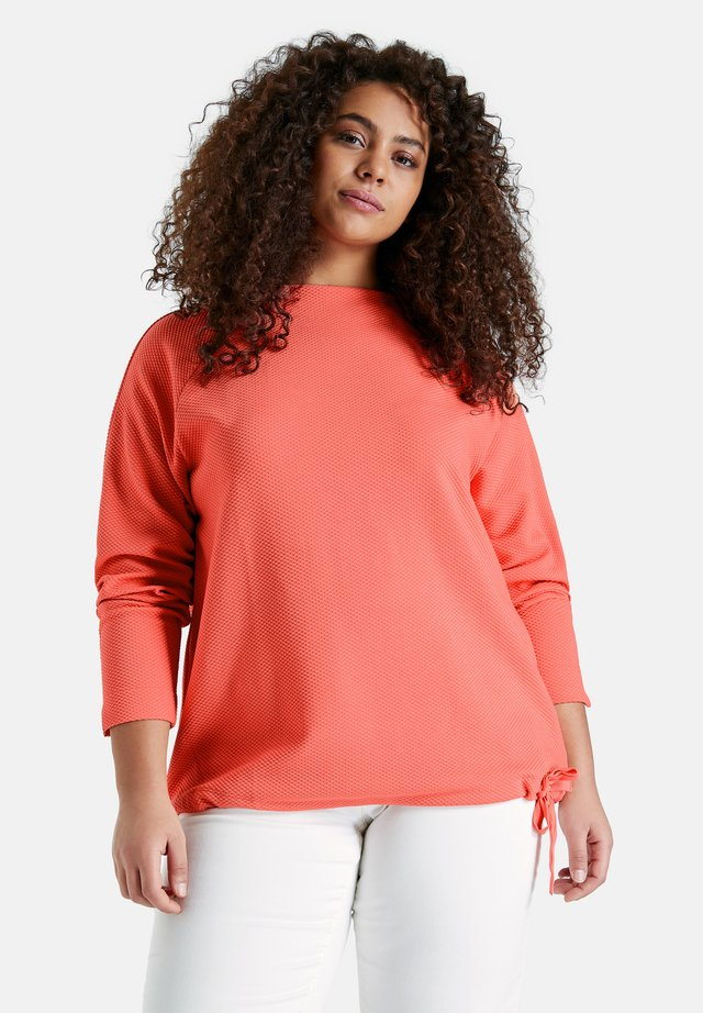 Sweater - fusion coral