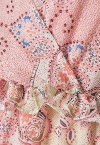 ONLY - ONLALLY MIDI DRESS - Vestido informal - sugar coral - 2