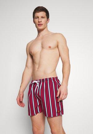 QUINO - Shorts da mare - navy/red